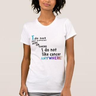 Camiseta No tenga gusto del cáncer