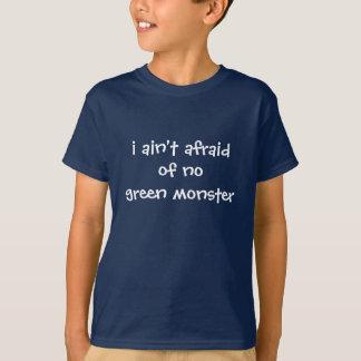 Camiseta no tengo miedo de ningún monstruo verde…