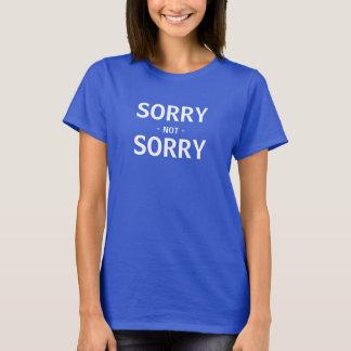 Camiseta No triste triste