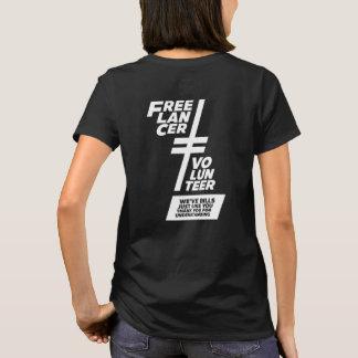 Camiseta No un voluntario