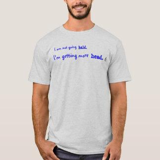 Camiseta No voy calvo., yo estoy consiguiendo más