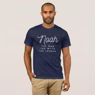 Camiseta Noah el hombre el mito la leyenda