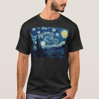 Camiseta Noche estrellada de Vincent van Gogh