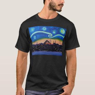 Camiseta Noche estrellada en Estambul Turquía