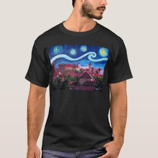 Camiseta Noche estrellada en Nuremberg Alemania con el