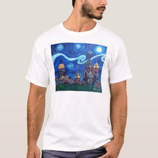 Camiseta Noche estrellada en St Petersburg Rusia