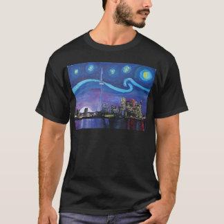 Camiseta Noche estrellada en Toronto con las inspiraciones