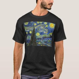 Camiseta Noche estrellada, Van Gogh