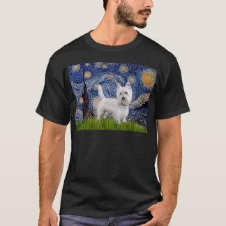 Camiseta Noche estrellada - Westie 10 (l)