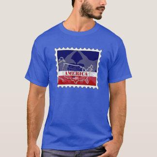 Camiseta nombrada los E.E.U.U. del sello de States