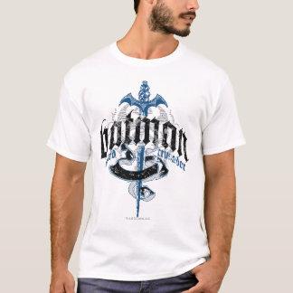 Camiseta Nombre de Batman el | con el logotipo de la espada