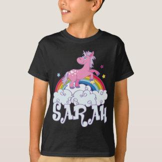 Camiseta Nombre del unicornio de Sarah