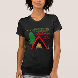 Camiseta Nombre deportivo de la tienda de la hoguera que