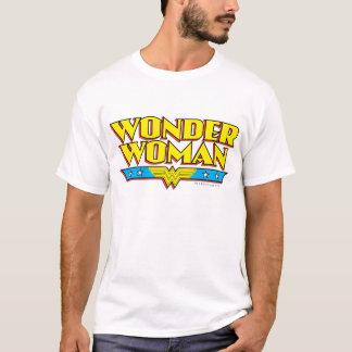 Camiseta Nombre y logotipo de la Mujer Maravilla