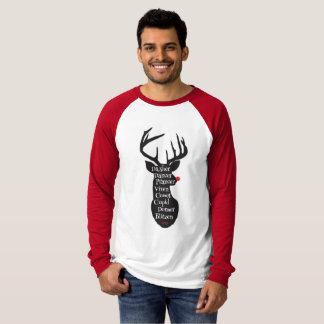 Camiseta Nombres del reno
