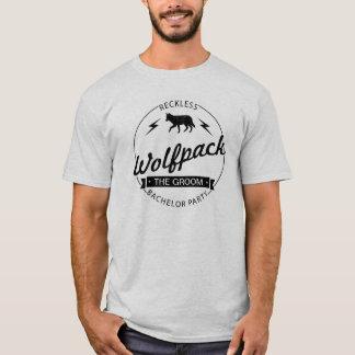 Camiseta Nombres imprudentes de los padrinos de boda de la