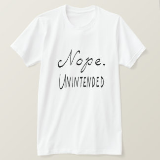 Camiseta Nope involuntario