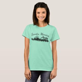 Camiseta Noria de la playa del embarcadero de California