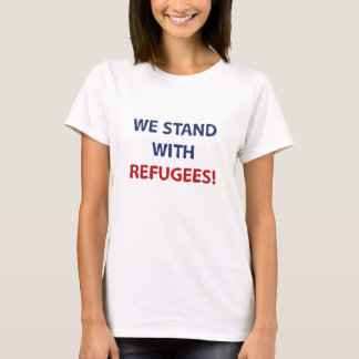 Camiseta Nos colocamos con los refugiados