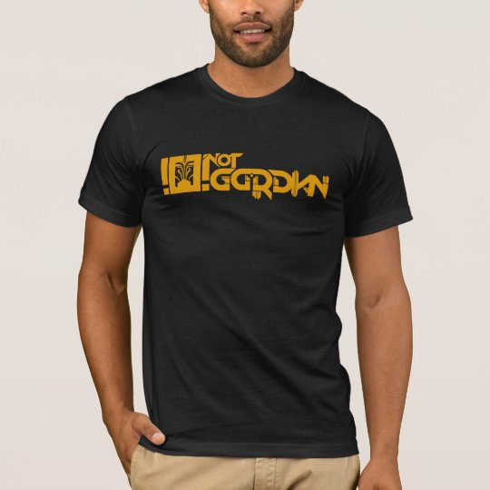 Camiseta Not Gordian Full Logo Golde
