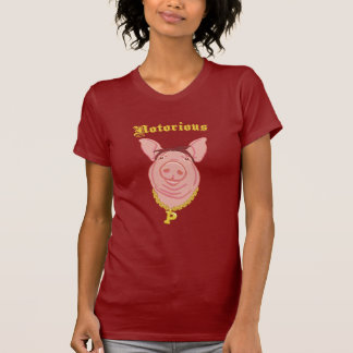 Camiseta notoria de la oscuridad de P.I.G. Piggie