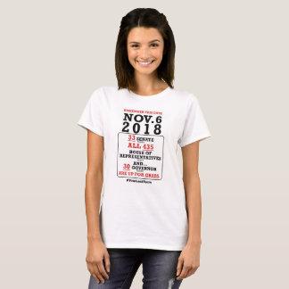 Camiseta Nov.6, 2018 - vótelos hacia fuera