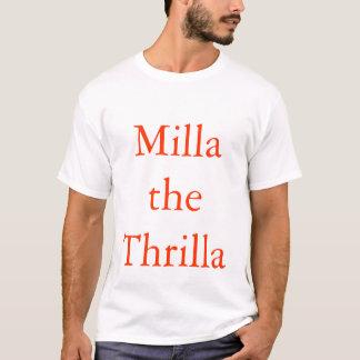 Camiseta Novela de suspense del baloncesto