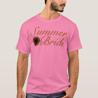 Camiseta Novia 07 del verano