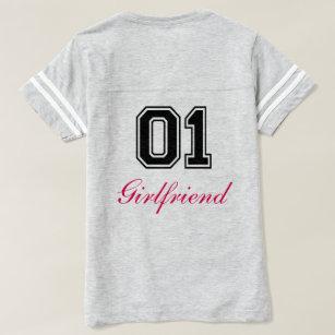 Camiseta Novia Del Número Uno