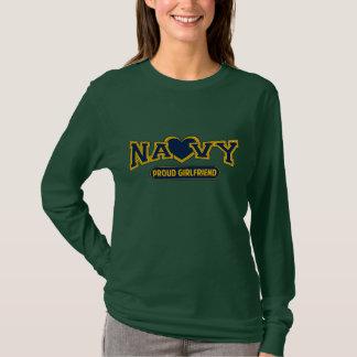 Camiseta Novia orgullosa de la marina de guerra
