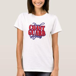 Camiseta Novia orgullosa del guardacostas