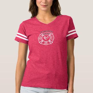 Camiseta Novias del bombero