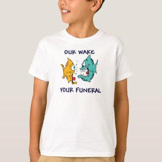 Camiseta Nuestra estela, su entierro