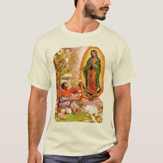 Camiseta Nuestra señora de Guadalupe y santo Juan Diego