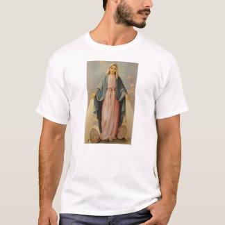 Camiseta Nuestra señora de la madre bendecida rosario Maria