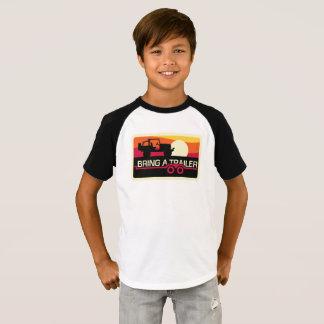 Camiseta ¡Nuestro diseño de la puesta del sol 4x4 para los