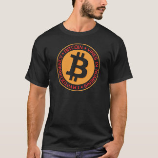Camiseta Nuestro tipo 03 del logotipo de Bitcoin