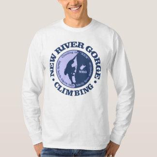 Camiseta Nueva garganta del río (el subir)