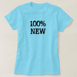 Camiseta Nuevo azul claro del 100%