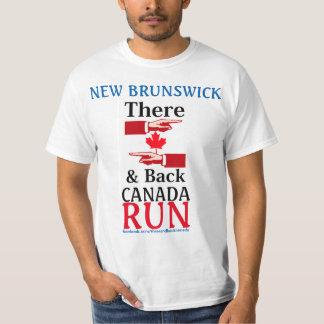 Camiseta Nuevo Brunswick allí y el tanque trasero de Canadá