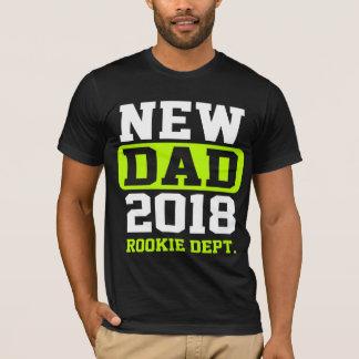 Camiseta Nuevo departamento novato del papá 2018