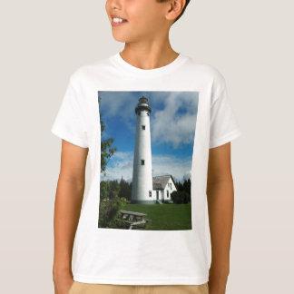 Camiseta Nuevo faro de la isla de Presque