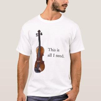 Camiseta Nuez #1 del violín