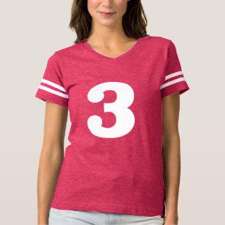 Camiseta Número con clase 3