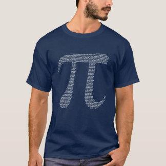 Camiseta Números del fractal del pi