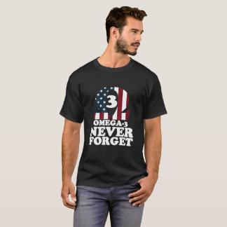 Camiseta Nunca olvide:  Ácido graso Omega-3