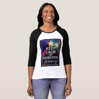 Camiseta Nunca pare el soñar