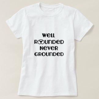 Camiseta nunca puesta a tierra versátil