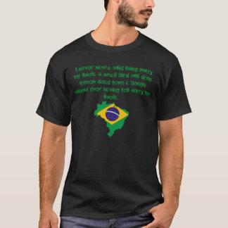 Camiseta Nunca vi una cosa salvaje. Capoeira
