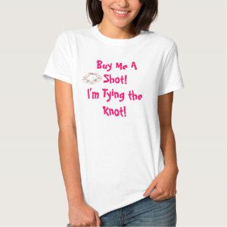 Camiseta nupcial divertida de la ducha